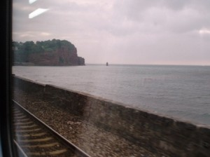 The Dawlish Sea Wall