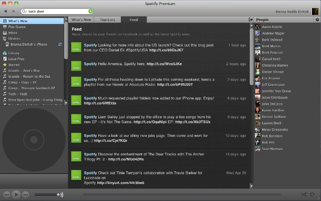 how to change order of songs spotify playlist